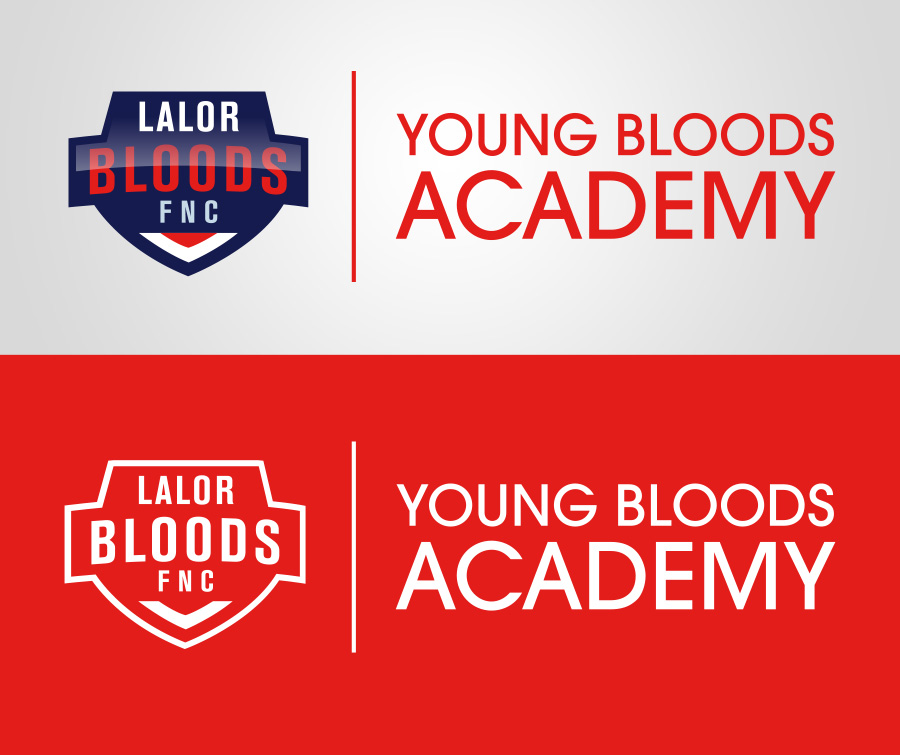 Young Boods Academy logo lockup