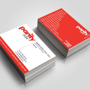 Parity Business Cards