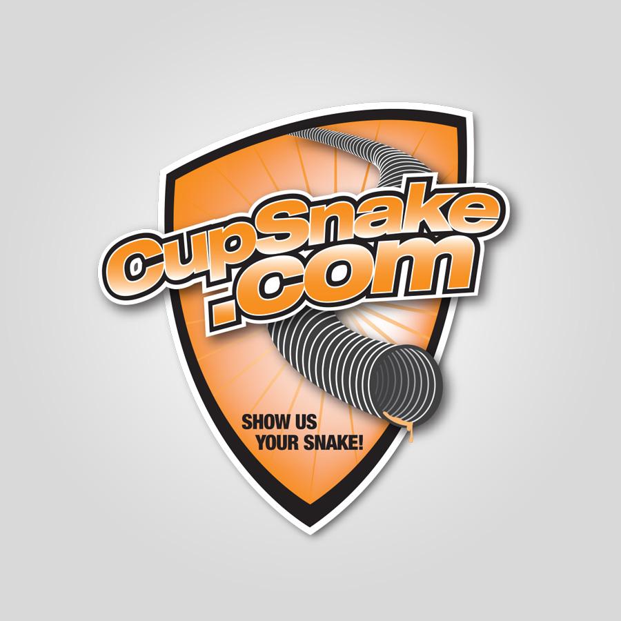 Shield Logo with Drop Shadow
